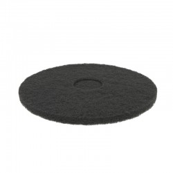 Vloerpad 16 inch zwart