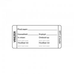 HACCP Vriezer Label