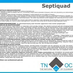 TNWOC Septiquad 10 liter
