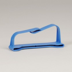 Steelhouder blauw 10 cm...